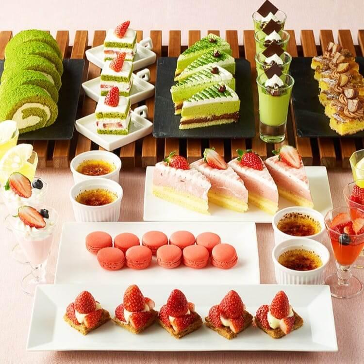 浦和ロイヤルパインズホテル「苺と和のデザートブッフェ」