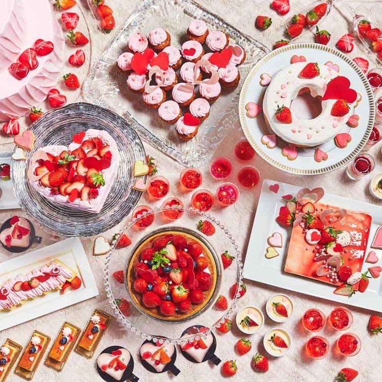 アートグレイス ウエディングコースト 東京ベイ「恋するいちごのデザートブッフェ ~SWEET×SWEET♡2021~」