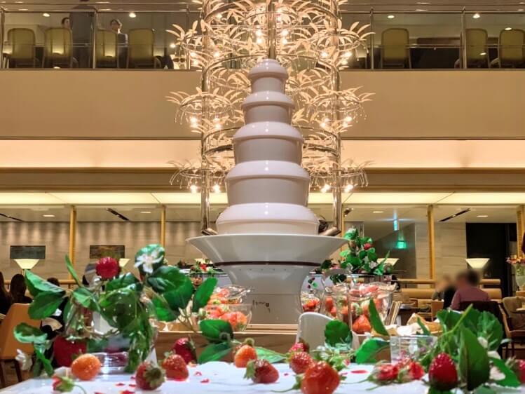 【レポ】ホテルグランヴィア大阪 いちごビュッフェ2020「ストロベリー&スイーツ ナイトブッフェ」訪問レポート