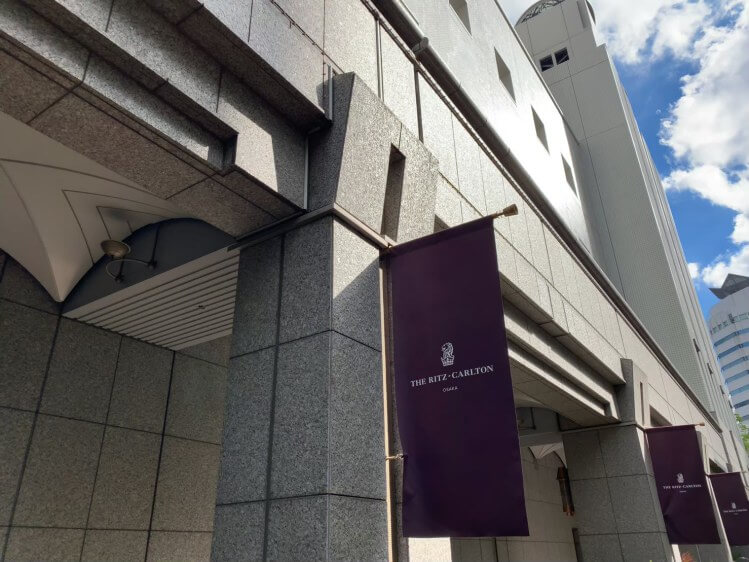ザ・リッツ・カールトン大阪 宿泊