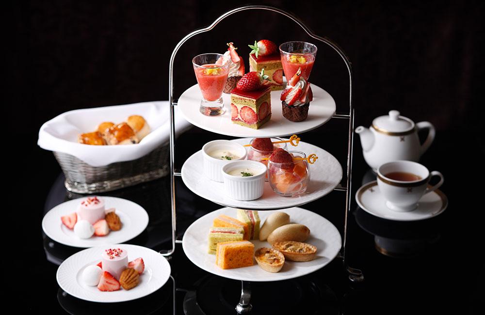 """「""""魅惑のStrawberry Time"""" Strawberry Afternoon Tea"""