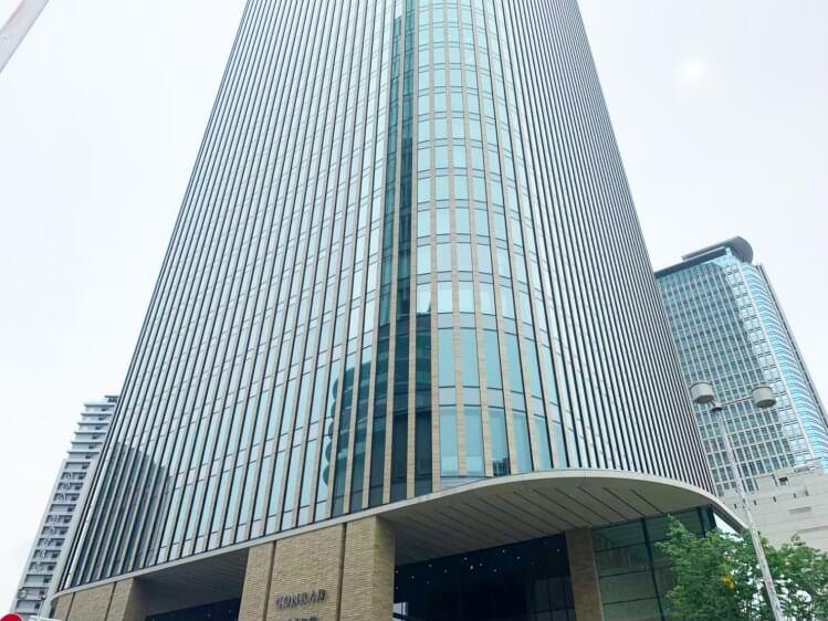 コンラッド大阪 宿泊