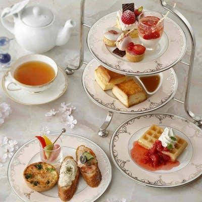 横浜ベイシェラトン ホテル&タワーズ「アフタヌーン ティーセット ~Sakura Strawberry~