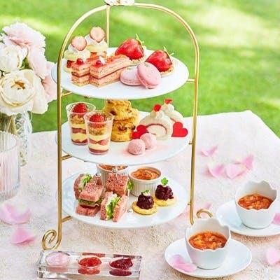 リストランテマンジャーレ 伊勢山「ストロベリー・アフタヌーンティー Special Afternoon Tea~strawberry~
