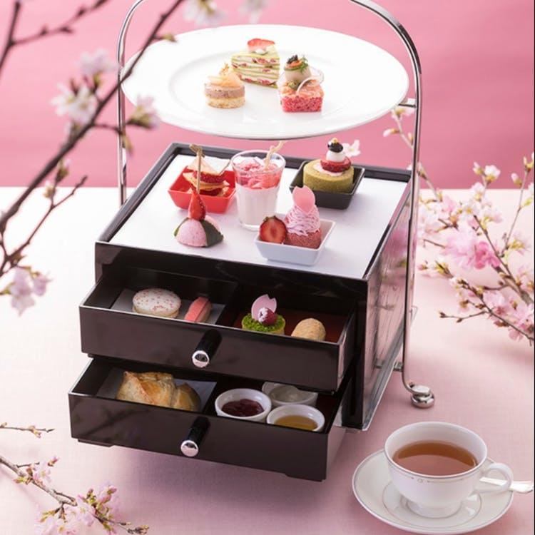 スイスホテル南海大阪「La vie en Rose Afternoon Tea