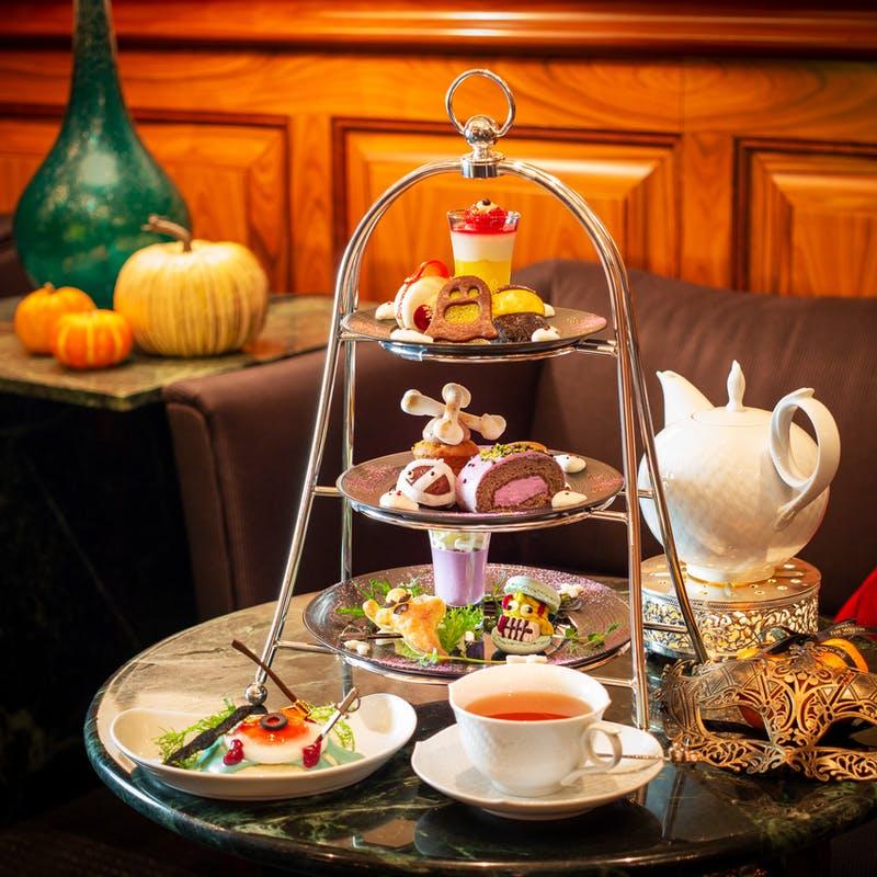 スイスホテル南海大阪Special Afternoon Tea Set おばけのハロウィン