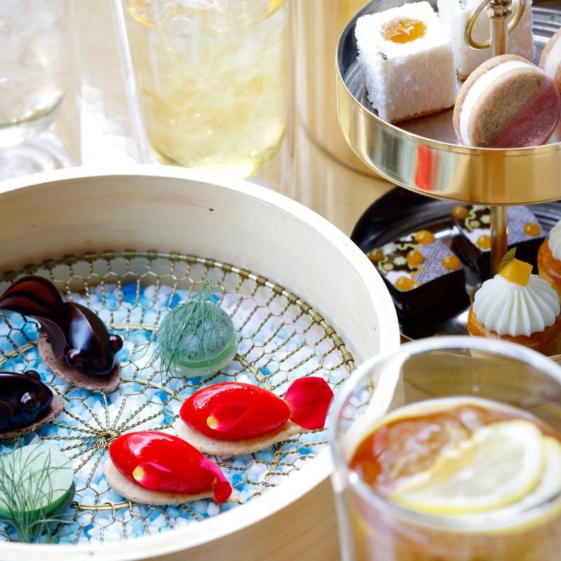 HOTEL THE MITSUI KYOTO「伝統工芸品に触れながら愉しむ アフタヌーンティ-セット