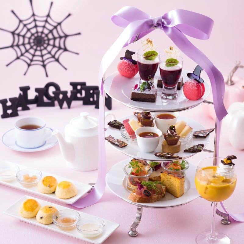 神戸ポートピアホテル「ハロウィンアフタヌーンティーセット