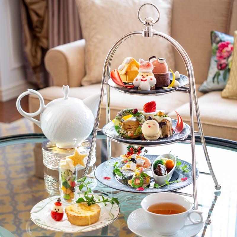 ウェスティンホテル大阪「Special Afternoon Tea Set ~クリスマスパーティー~