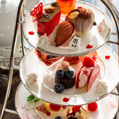 ウェスティンホテル大阪「Berry Berryアフタヌーンティー