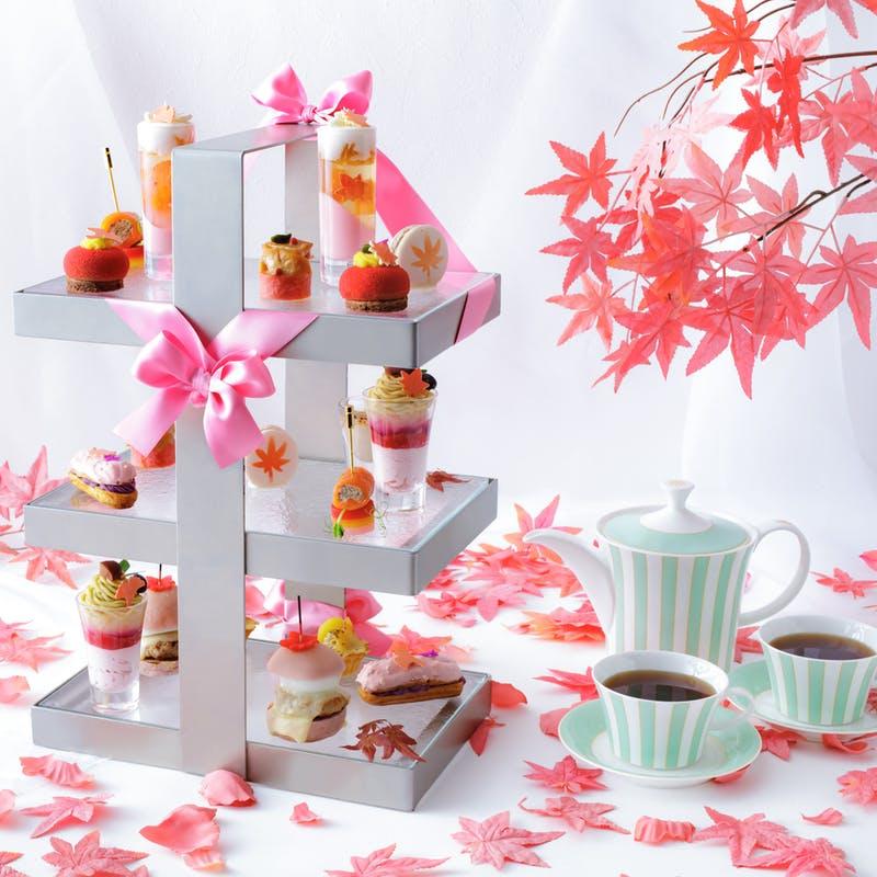 ANAクラウンプラザホテル大阪「Pink afternoon tea ~Pink Leaves~