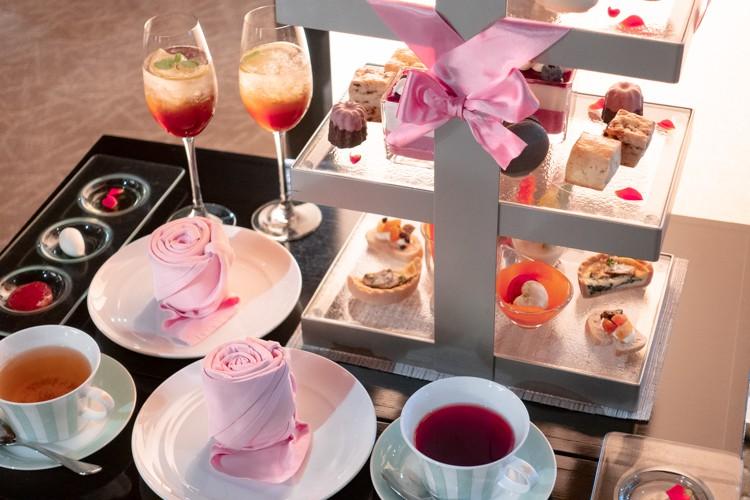 【ティー レポ】ANAクラウンプラザホテル大阪の可愛いピンクアフタヌーンティー