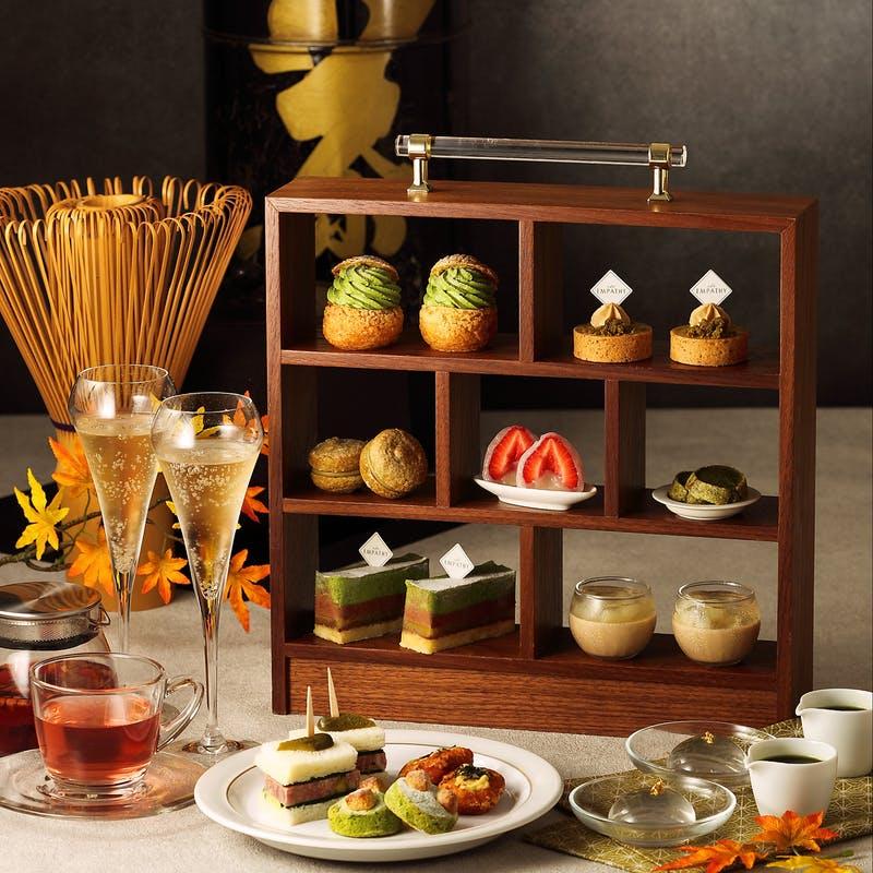 都ホテル 博多「お茶のアフタヌーンティー