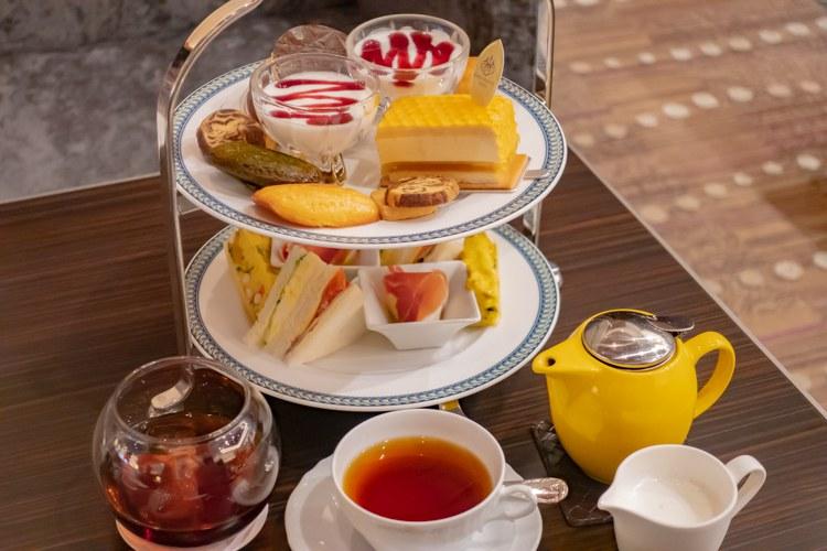 【ティーレポ】選べるケーキが美味しい!コスパ良しの ホテルグランヴィア大阪のアフタヌーンティー