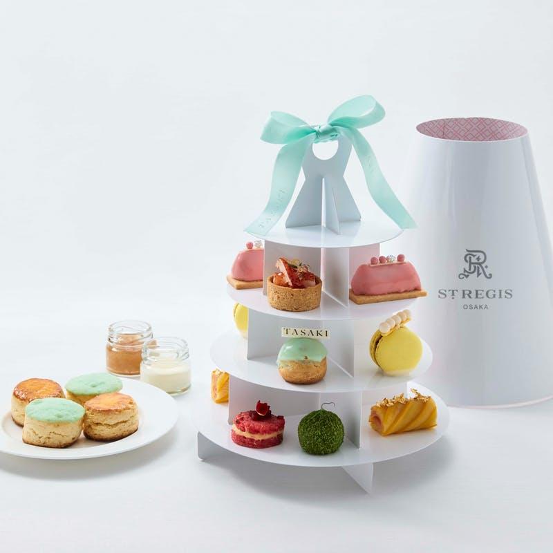 セントレジスホテル大阪「【2名分】Afternoon Tea Ritual The St. Regis to Go! ~TASAKI MIX~